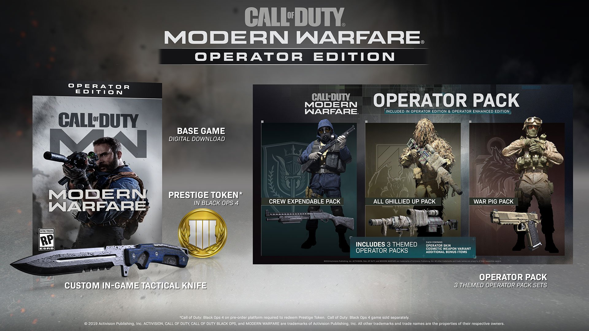 Pre Order Call Of Duty Modern Warfare And You Get A