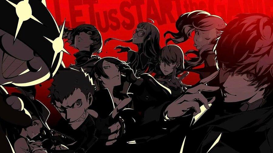 Persona 5 PS4 PlayStation 4 Sony 1