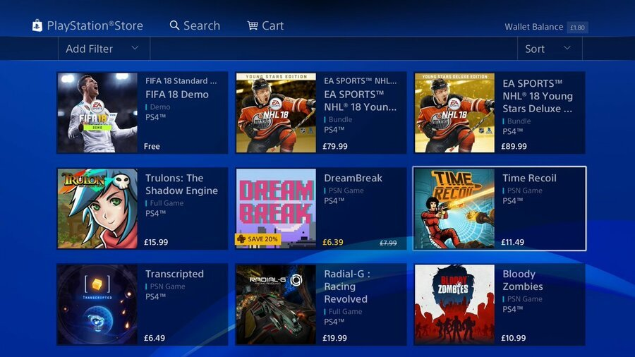 PlayStation Store PS Store Sony 1