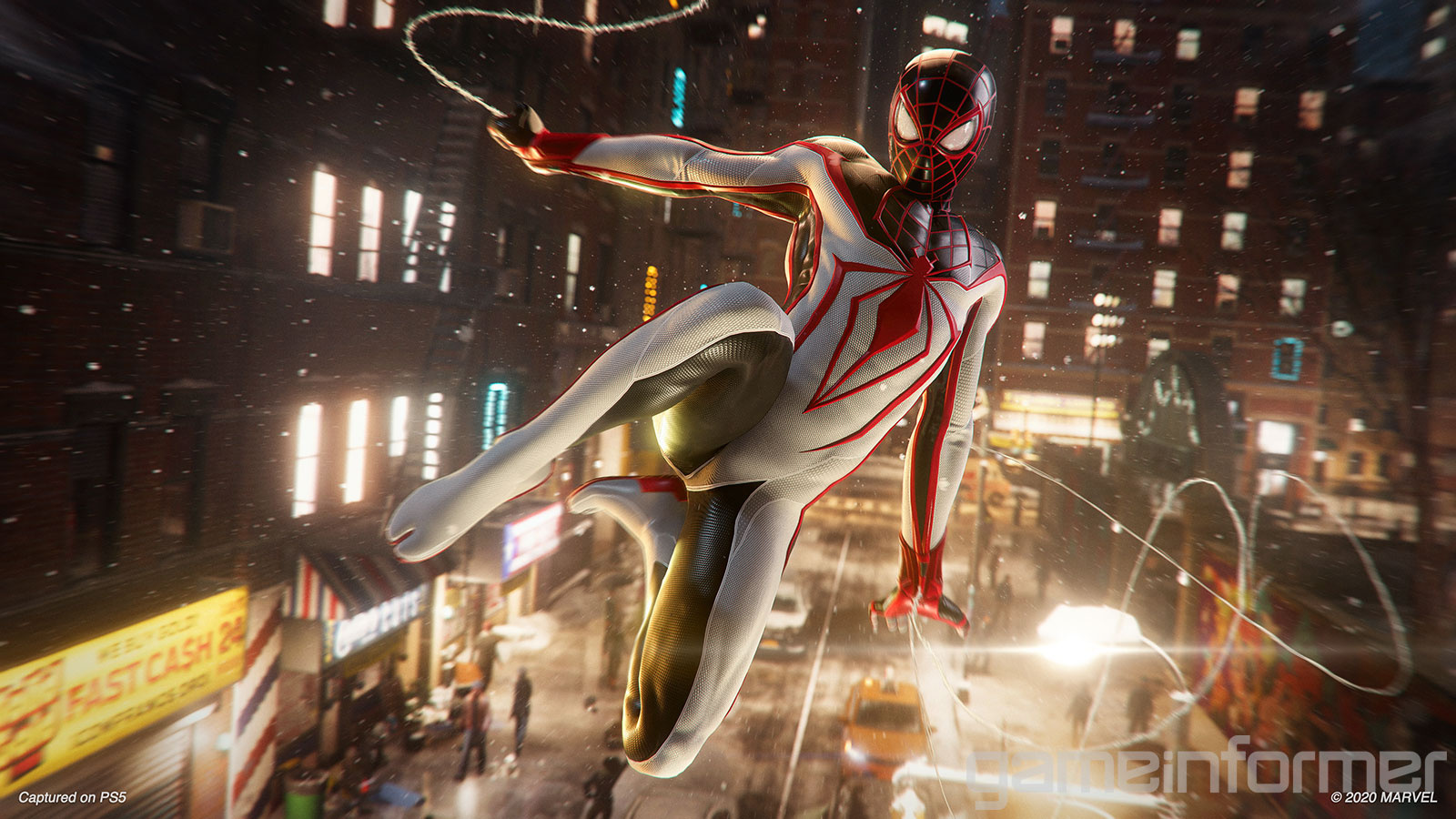 The T.r.a.c.k. Suit Is A Preorder Bonus And A New Look For Miles Morales.
