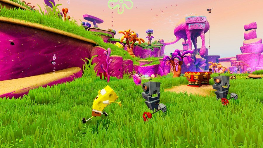 SpongeBob SquarePants Battle for Bikini Bottom Rehydrated Jellyfish Fields Collectibles Guide PS4 PlayStation 4