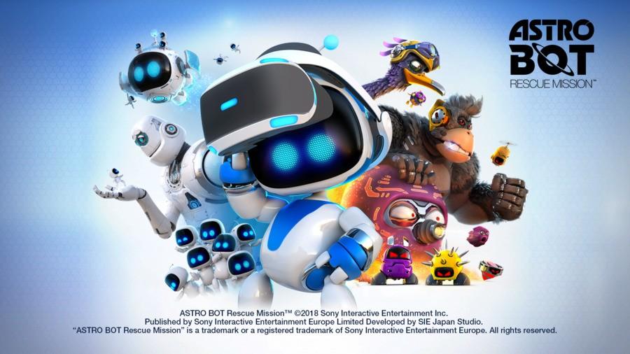 Astro Bot Rescue Mission PS4 Mascot 1
