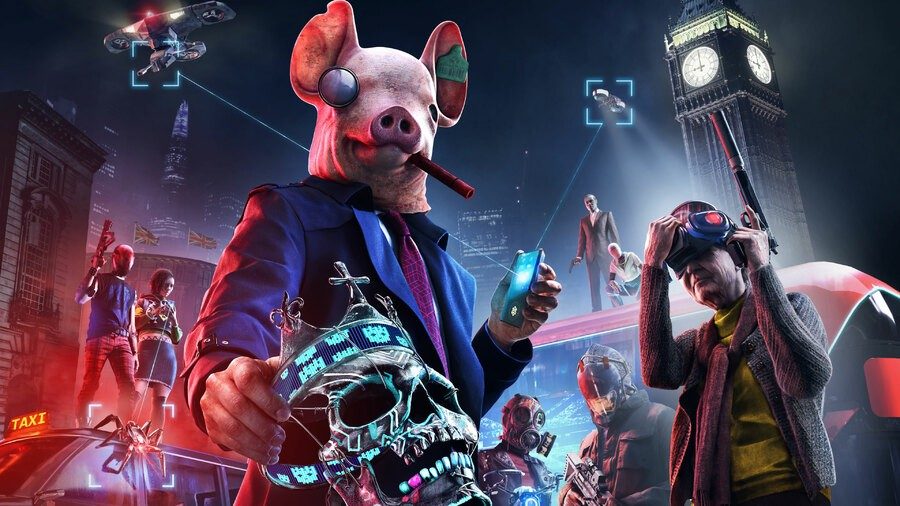 Watch Dogs Legion PS5 PS4