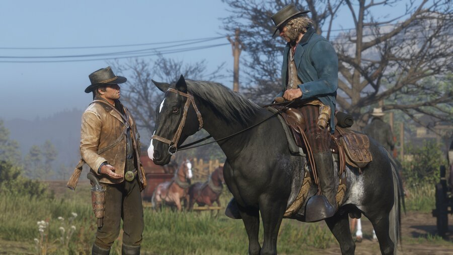Red Dead Redemption 2 How to Clean and Brush Your Horse Guide 1