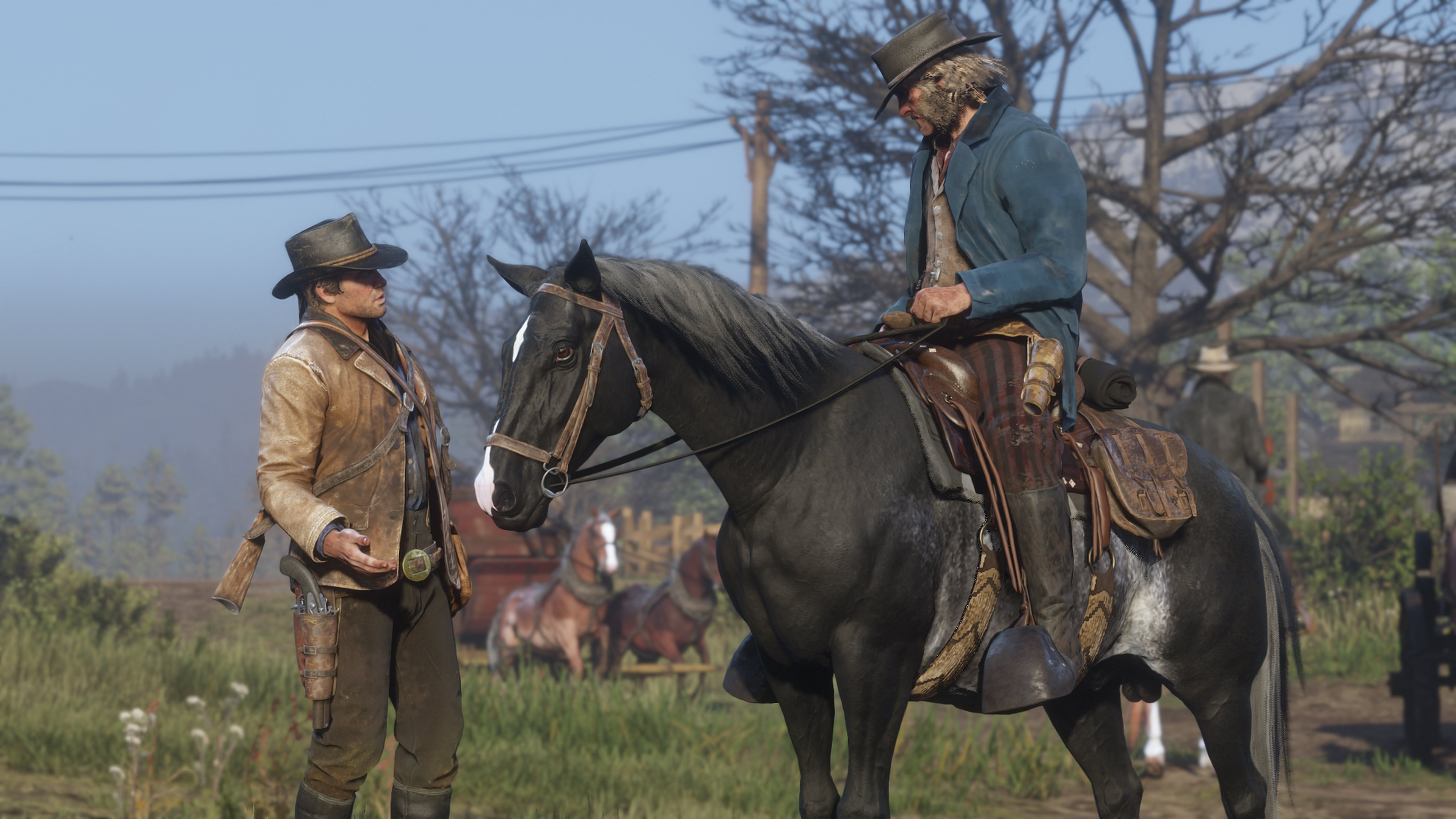 Red Dead Redemption 2 How To Clean And Brush Your Horse Guide