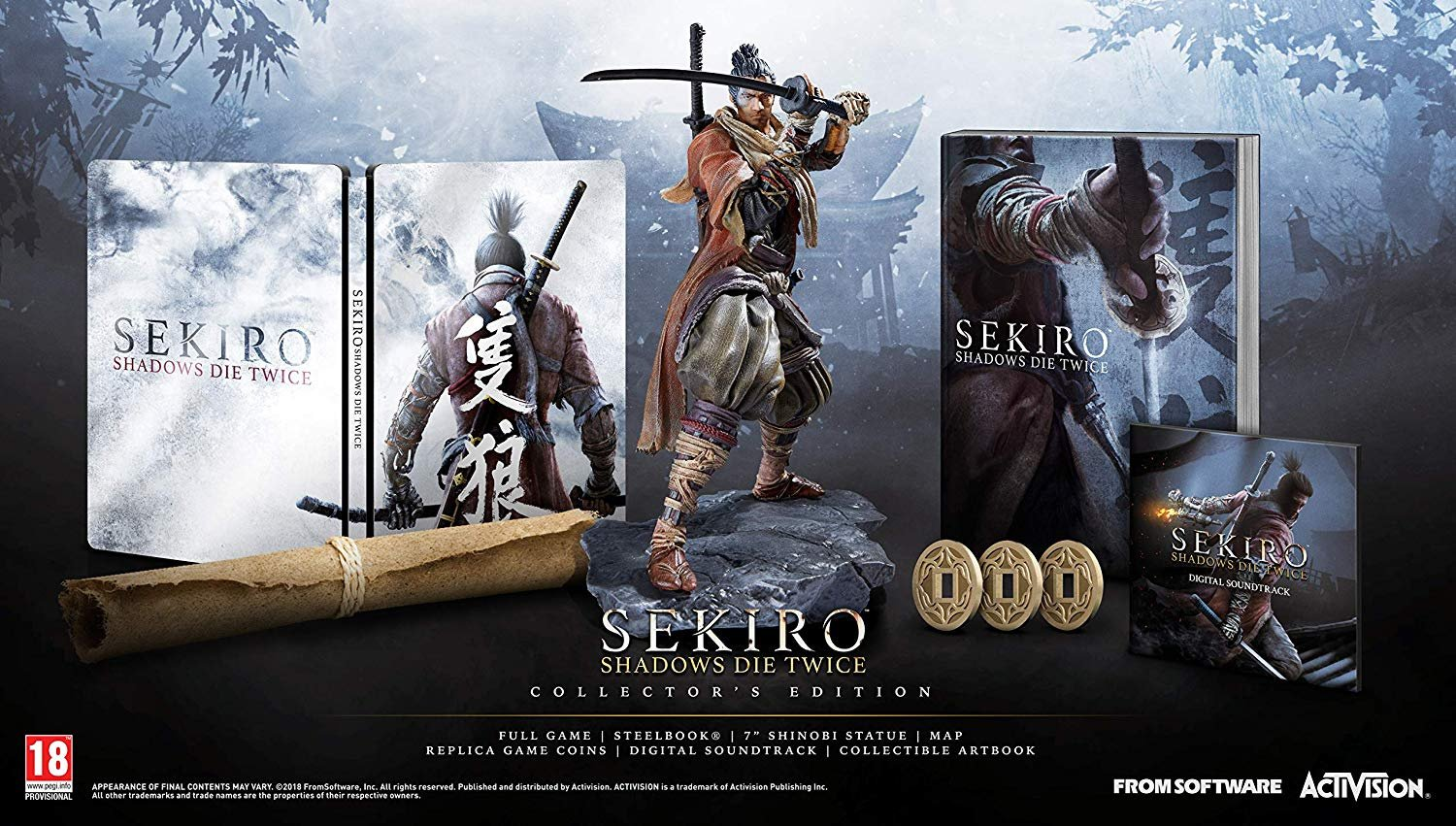Sekiro: Shadows Die Twice Collector's Edition PS4 PlayStation 4