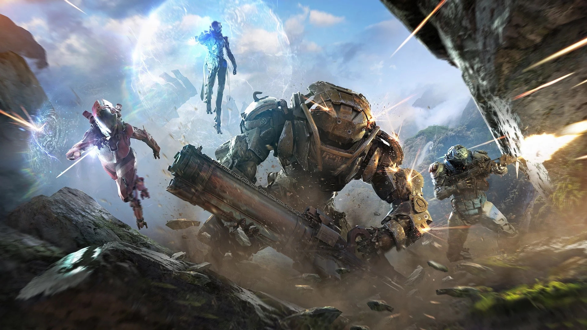 Bioware And EA Reportedly Working On Massive Overhaul Of Online Shooter 'Anthem'