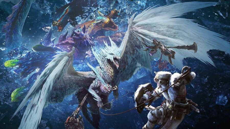 Monster Hunter World Iceborne Sales