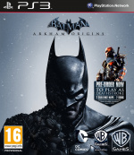 Batman: Arkham Origins Cover (Click to enlarge)