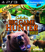 Cabela's Big Game Hunter 2012 Cover (Click to enlarge)