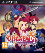Disgaea D2: A Brighter Darkness Cover (Click to enlarge)