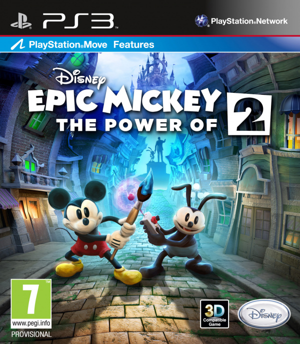 Disney Epic Mickey 2: The Power of Two Review (PS3) | Push