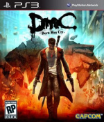 DmC: Devil May Cry Cover (Click to enlarge)