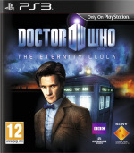 Doctor Who: The Eternity Clock Cover (Click to enlarge)