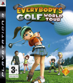 Everybody's Golf: World Tour Cover (Click to enlarge)