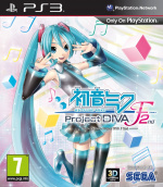 Hatsune Miku: Project Diva F 2nd Cover (Click to enlarge)