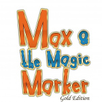 Max and the Magic Marker: Gold Edition Cover (Click to enlarge)