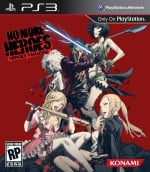 No More Heroes: Heroes' Paradise Cover (Click to enlarge)