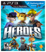 PlayStation Move Heroes Cover (Click to enlarge)
