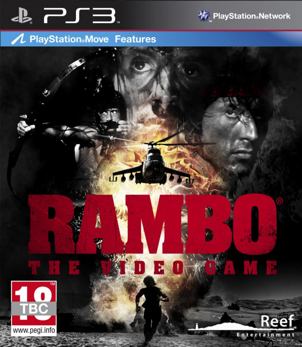 Video Games Ps3 Covers Rambo The Video Game Cover