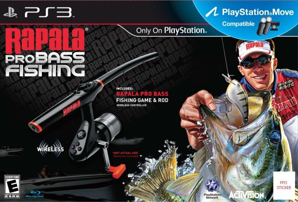 Rapala pro bass fishing review ps3 push square for Ps3 fishing games