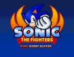 Sonic the Fighters Cover (Click to enlarge)