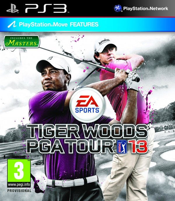Tiger Woods PGA Tour 13 Cover Artwork