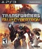Transformers: Fall of Cybertron Cover (Click to enlarge)