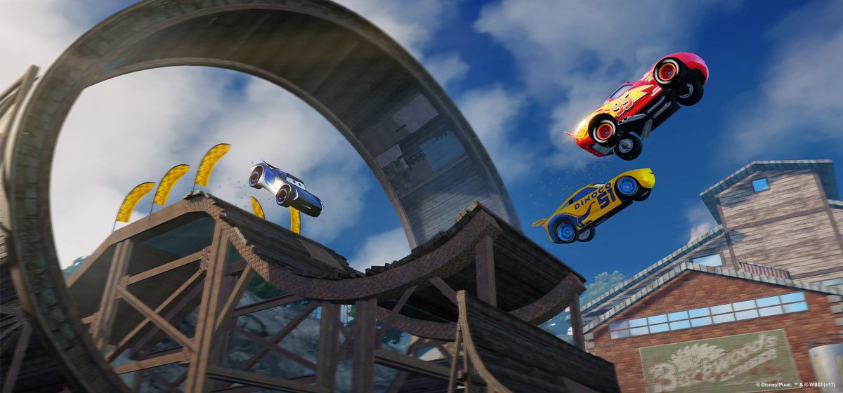 cars 3 driven to win ps4 playstation 4 news. Black Bedroom Furniture Sets. Home Design Ideas