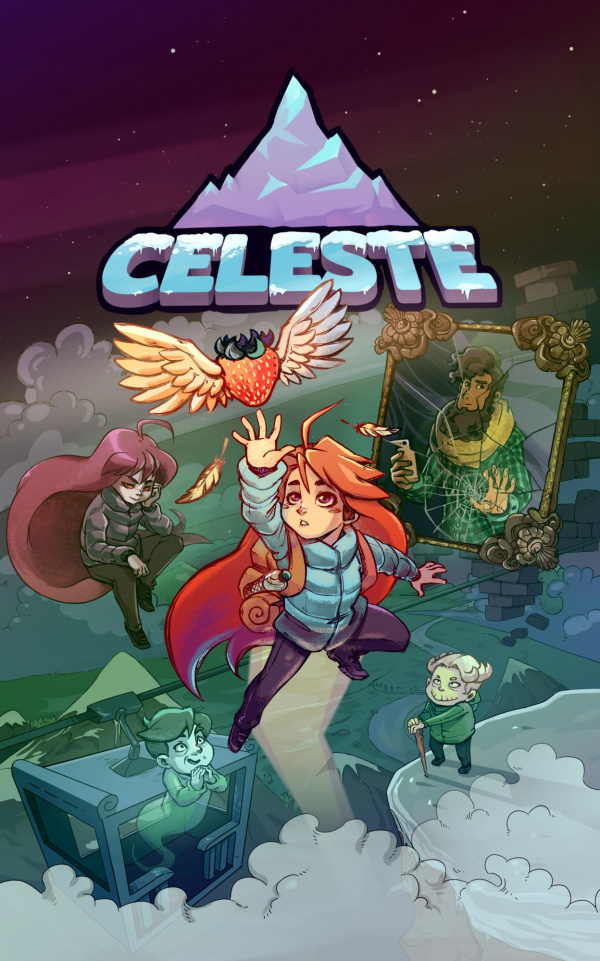 Video Game Girl Stock Image Image Of Latina Isolated: Celeste Review (PS4)
