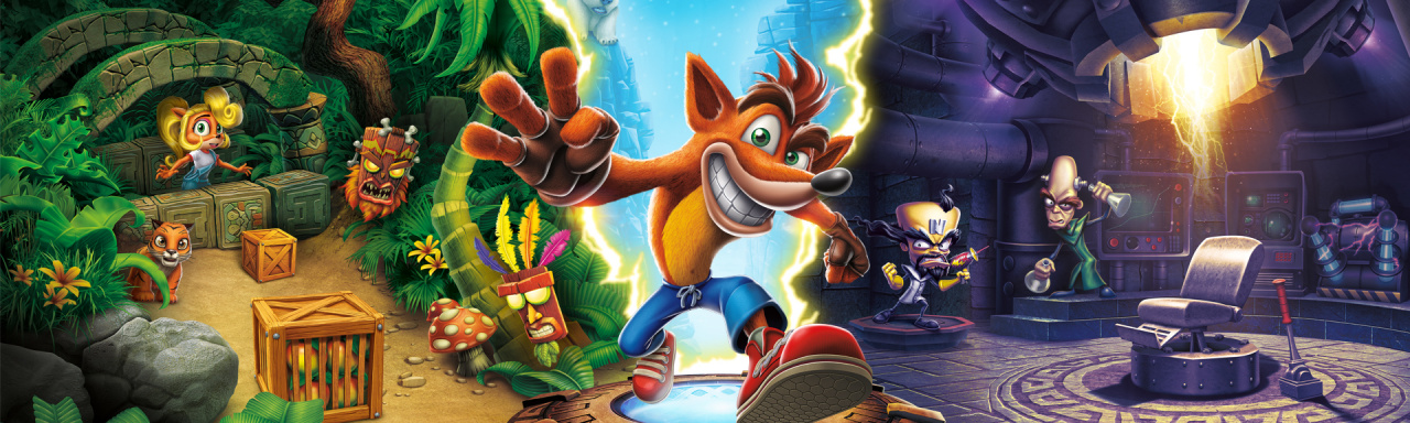 crash bandicoot, crash bash