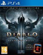 Diablo III: Reaper of Souls - Ultimate Evil Edition Cover (Click to enlarge)