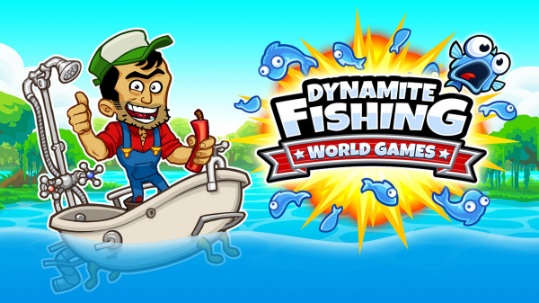 Dynamite fishing world games review ps4 push square for Fish world game