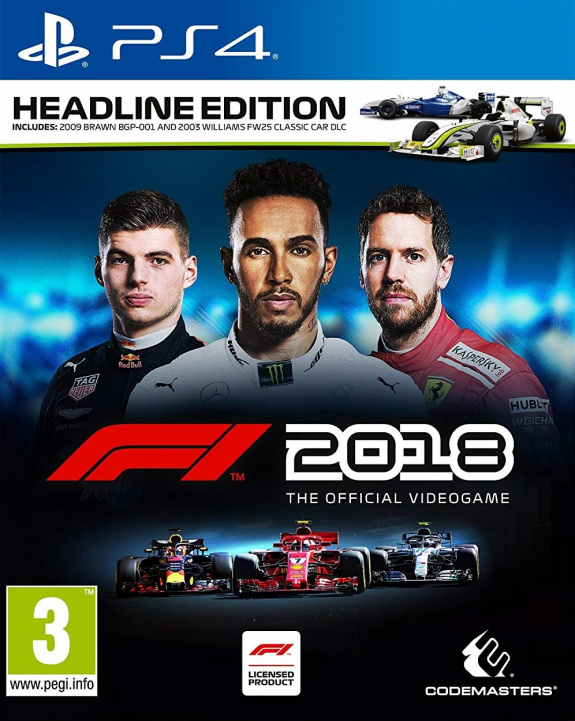 f1 2018 ps4 playstation 4 news reviews trailer. Black Bedroom Furniture Sets. Home Design Ideas