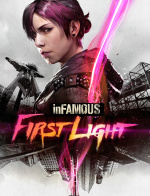inFAMOUS: First Light Cover (Click to enlarge)