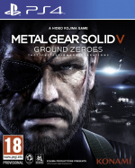 Metal Gear Solid V: Ground Zeroes Cover (Click to enlarge)