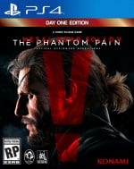 Metal Gear Solid V: The Phantom Pain Cover (Click to enlarge)