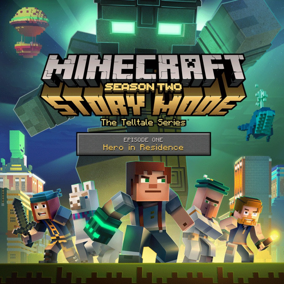 minecraft story mode season two episode 1 hero in. Black Bedroom Furniture Sets. Home Design Ideas