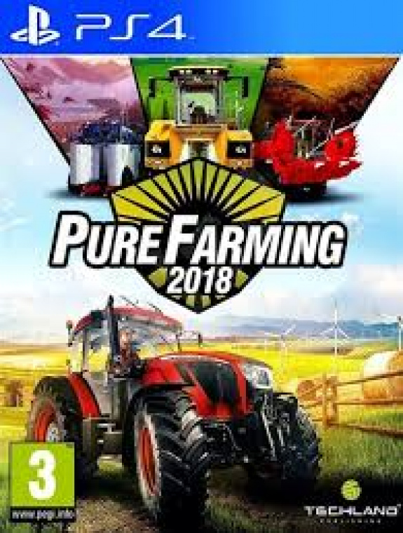 pure farming 2018 ps4 playstation 4 reviews. Black Bedroom Furniture Sets. Home Design Ideas