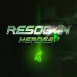 Resogun: Heroes Cover (Click to enlarge)