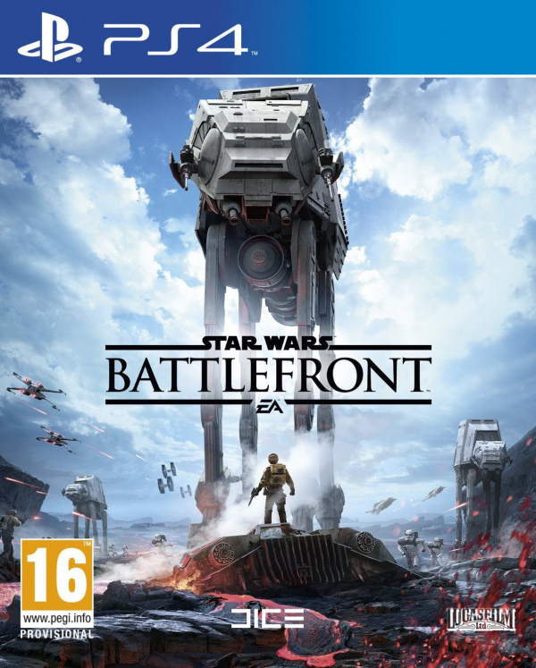 New Ps4 Games 2015 : Star wars battlefront ps screenshots look red hoth