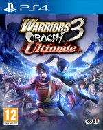 Warriors Orochi 3 Ultimate Cover (Click to enlarge)