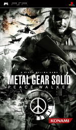 Metal Gear Solid: Peace Walker Cover (Click to enlarge)