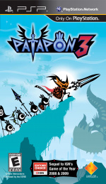 Patapon 3 Cover (Click to enlarge)