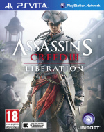 Assassin's Creed III: Liberation Cover (Click to enlarge)