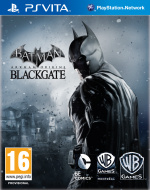 Batman: Arkham Origins Blackgate Cover (Click to enlarge)