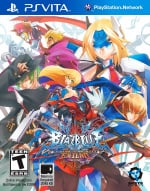 BlazBlue: Continuum Shift EXTEND Cover (Click to enlarge)