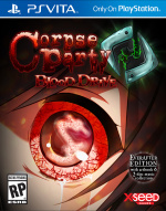 Corpse Party: Blood Drive Cover (Click to enlarge)