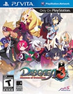 Disgaea 3: Absence of Detention Cover (Click to enlarge)
