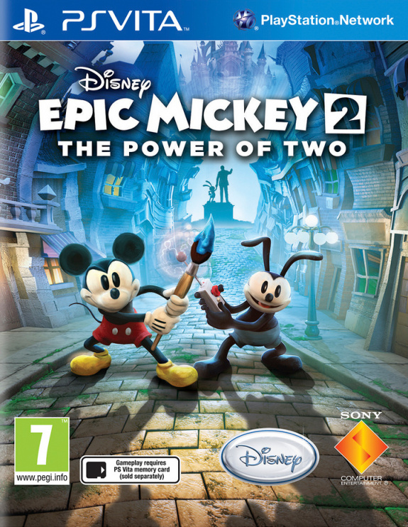 Disney Epic Mickey 2: The Power of Two Review (PS Vita ...